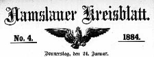 Namslauer Kreisblatt 1884-12-31 [Jg.39] Nr 54
