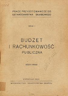 Budżet i rachunkowość publiczna. 2