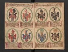 Genealogie derer von Winnss u. Heinrichsdorf. Mit Wappenbildern