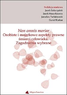 Instytucja polecenia testamentowego w prawie krajów Wspólnoty Niepodległych Państw na tle prawa polskiego