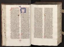 Augustinus de divinissima trinitate ; Augustinus de verbis domini ; Augustinus de doctrina christiana ; Augustinus de natura boni...