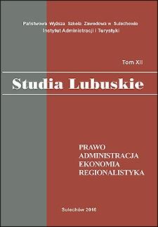 Ograniczenia ustawowe zadłużania się a wielkość zobowiązań jednostek samorządowych województwa lubuskiego w latach 2002-2015