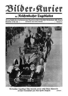 Bilder-Kurier der Reichenbacher Tageblattes 1928-05-19 Nr 21