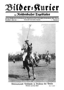 Bilder-Kurier der Reichenbacher Tageblattes 1928-07-07 Nr 28
