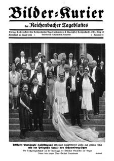 Bilder-Kurier der Reichenbacher Tageblattes 1928-08-11 Nr 33