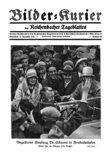 Bilder-Kurier der Reichenbacher Tageblattes 1928-11-10 Nr 46