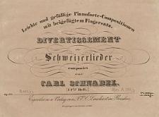 Divertissement über Schweizerlieder [...] Op. 27
