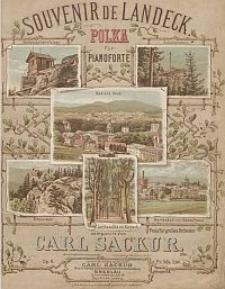 Souvenir de Landeck : Polka für Pianoforte : Op. 6