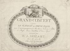 Grand concert pour le clavecin ou forte-piano [...] Oeuvre 4. Livre 2
