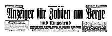 Anzeiger für Zobten am Berge und Umgegend 1938-10-28 Jg. 54 Nr 127