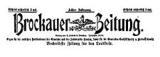 Brockauer Zeitung 1908-01-01 Jg. 8 Nr 1