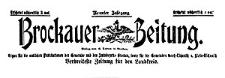Brockauer Zeitung 1909-01-31 Jg. 9 Nr 13