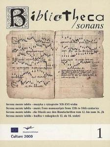 Serena mente iubilo - muzyka z rękopisów XII-XVI wieku