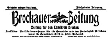 Brockauer Zeitung. Zeitung für den Landkreis Breslau 1915-01-01 Jg. 15 Nr 1
