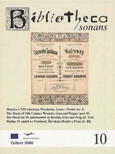 Muzyka w XIX-wiecznym Wrocławiu, Grazu i Pradze (cz. 2)