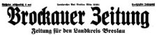 Brockauer Zeitung 1930-03-14 Jg. 30 Nr 32