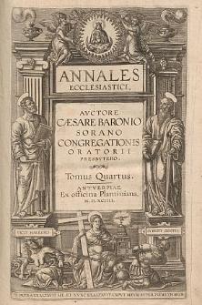 Annales Ecclesiastici. T. 4