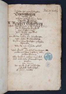Pasquille und Protocolle in Bezug auf den Pietismus des M. Melchior Schaeffer