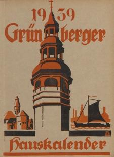 Grünberger Hauskalender: Heimatkalende für die Kreise Grünberg und Freystadtr auf das Jahr 1939, 28. Ausgabe