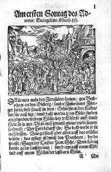 Kinder Postilla Vber die Sontags, vnd der fürnembsten Fest Euangelia, durch das gantze Jar / Gestellet durch M. Vitum Dieterich [...].