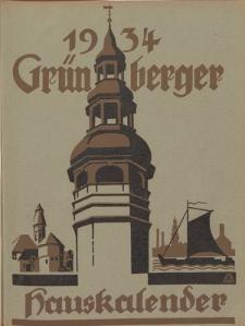 Grünberger Hauskalender: Heimatkalender für die Kreise Grünberg und Freystadt auf das Jahr 1934, 24. Ausgabe