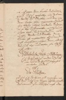 Willkuehr und Statuten von Lauban, Loebau, Camentz