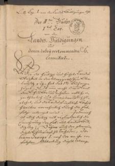 Jus publicum Lusatiae Superioris betreffend die Landes-Huldigungen und hohen Aemter. Band II