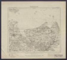 Karte des Deutschen Reiches 1:100 000 - 89. Greifswald