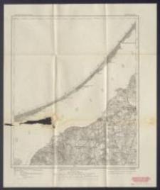 Karte des Deutschen Reiches 1:100 000 - 72. Frauenburg