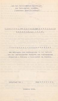 """""""Beitrag zur Klinik der tertiären Leber-Syphilis""""."""