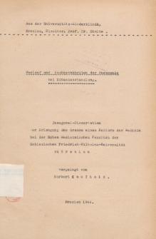 Verlauf und Nachkrankheiten der Pneumonie bei Eubasinbehandlung.