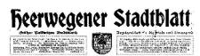 Heerwegener Stadtblatt (früher Polkwitzer Stadtblatt) Anzeigenblatt für die Stadt und Umgegend 1939-01-31 Jg. 57 Nr 9