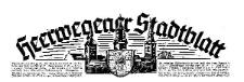 Heerwegener Stadtblatt (früher Polkwitzer Stadtblatt) Anzeigenblatt für die Stadt und Umgegend 1939-12-29 Jg. 57 Nr 105