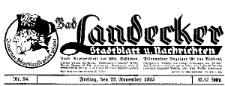 Landecker Stadtblatt und Nachrichten 1935-01-01 Nr 1