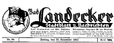 Landecker Stadtblatt und Nachrichten 1940-11-22 Nr 93/94