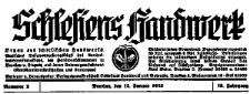 Schlesiens Handwerk. Organ des Schlesischen Handwerks 1935-08-31 Jg. 16 Nr 35