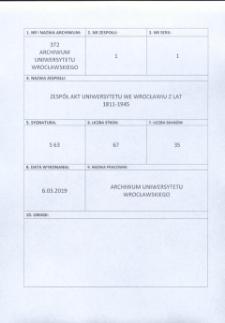 Verzeichnis der Vorlesungen an der Königlichen Universität Breslau, Sommer-Semester 1905
