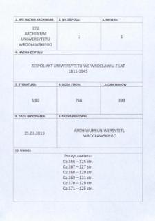 Personal-Verzeichnis der Schlesischen Friedrich Wilhelms-Universität zu Breslau, Sommer-Semester 1912 - Winter-Semester 1914/15