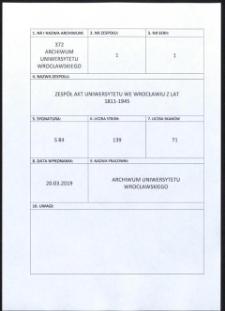 Personal-Verzeichnis der Schlesischen Friedrich Wilhelms-Universität zu Breslau, Sommer-Semester 1917
