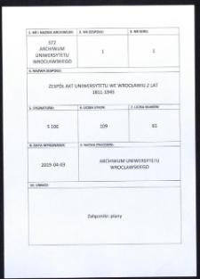 Vorlesungs- und Personal-Verzeichnis der Schlesischen Friedrich Wilhelms-Universität zu Breslau, Sommer-Semester 1933