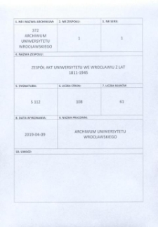 Vorlesungs- und Personal-Verzeichnis der Schlesischen Friedrich Wilhelms-Universität zu Breslau, Sommer-Semester 1936