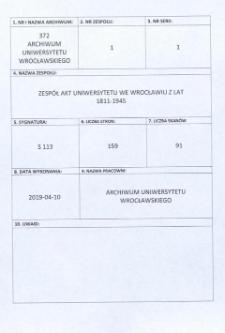 Vorlesungs- und Personal-Verzeichnis der Schlesischen Friedrich Wilhelms-Universität zu Breslau, Winter-Semester 1936/37