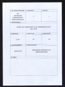 Verteilung des Ehrenzeichen, 30.07.1930 - 5.07.1944