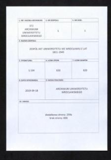 Berufungsangelegenheiten, 13.01.1931 - 12.04.1940