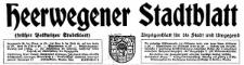 Heerwegener Stadtblatt (früher Polkwitzer Stadtblatt) Anzeigenblatt für die Stadt und Umgegend 1938-11-11 Jg. 56 Nr 89