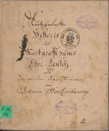 Kurzgefasste Historie des Marggrafthumbs Oberlausitz