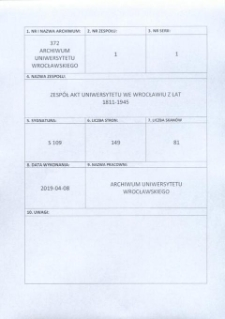 Vorlesungs- und Personal-Verzeichnis der Schlesischen Friedrich Wilhelms-Universität zu Breslau, Winter-Semester 1934/35