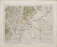 Special-Karte von Mittel-Europa 1:300 000 - Miskolcz 136.
