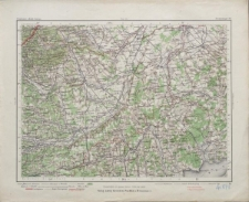Special-Karte von Mittel-Europa 1:300 000 - Steinamanger 161.