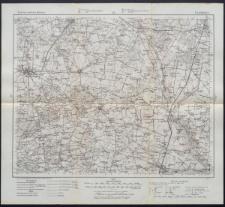 Karte des westlichen Russlands 1:100 000 - E 35. Pabianice